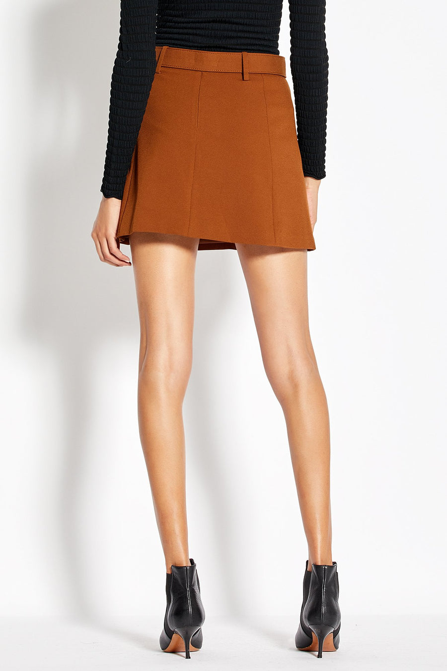 Mini Skirt - Walnut