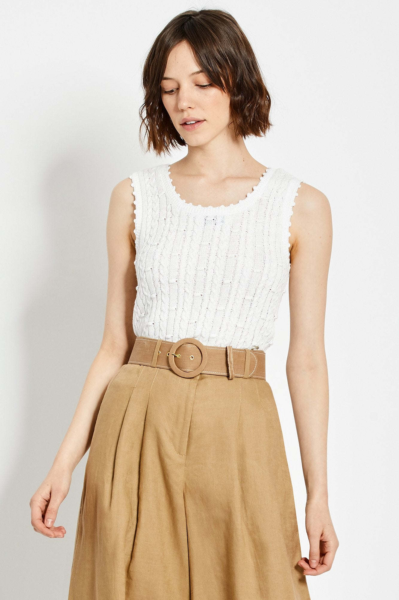 Sheila Top - White