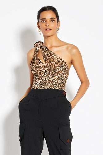 Knot Top - Leopard
