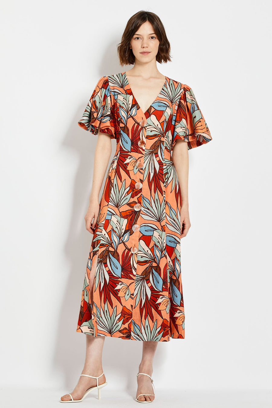 Troy Dress - Tarama Deco Floral