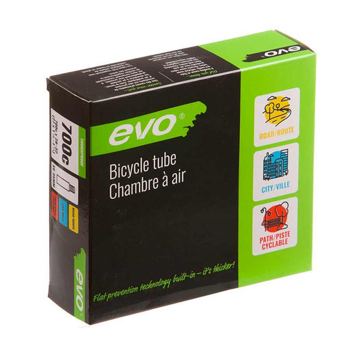 EVO, Heavy Duty, Tube, Schrader, Length: 35mm, 700C, 28-32C