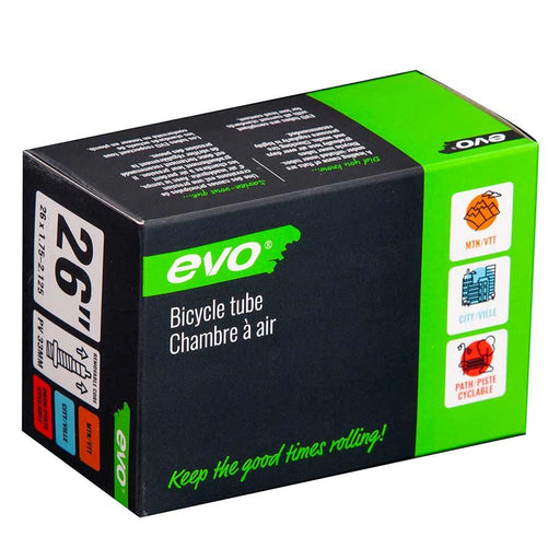 EVO, Presta, Tube, Presta, Length: 33mm, 26'', 1.75-2.125