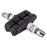 SUNLITE Threaded Post Brake Pads 1 Pair Standard 55mm Black Brake Pads