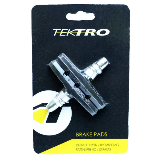 Tektro Molded linear bike brake pads, black pair