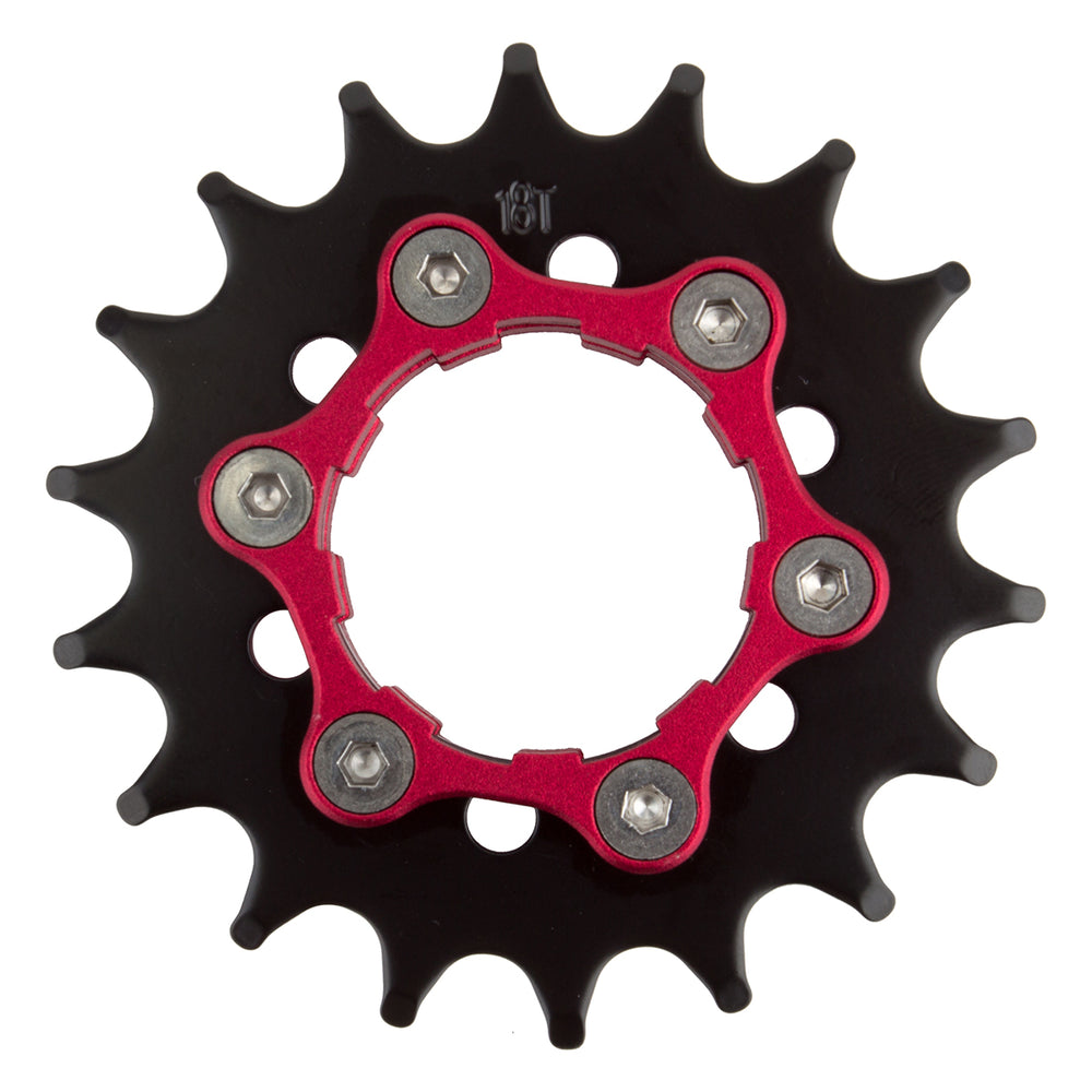 ORIGIN8 Ultim8 Single Speed Cassette/6-Bolt Disc Cog 18T x 3/32`