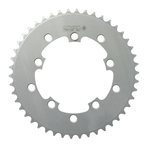 ORIGIN8 Single Speed 110mm/130mm 5-bolt 46T Silver Chainring