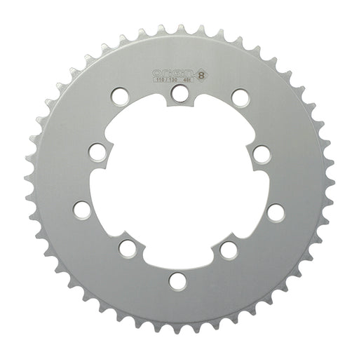 ORIGIN8 Single Speed 110mm/130mm 5-bolt 48T Silver Chainring