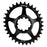 ORIGIN8 Holdfast Oval Direct 1x GXP Direct Mount 32T 7075AL Black Chainring