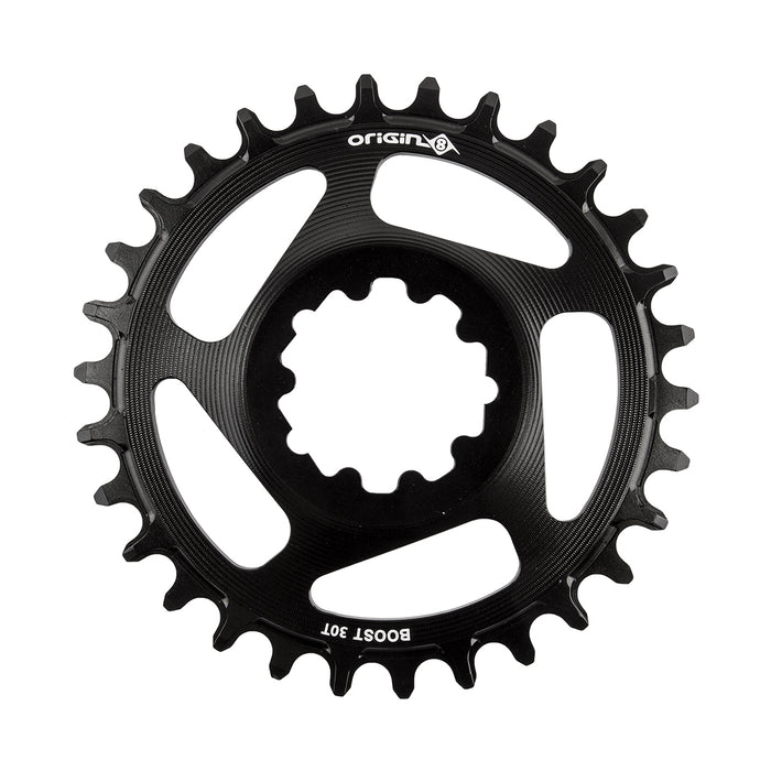 ORIGIN8 Holdfast Direct 1x Boost Direct Mount 30T 7075AL Boost Black Chainring
