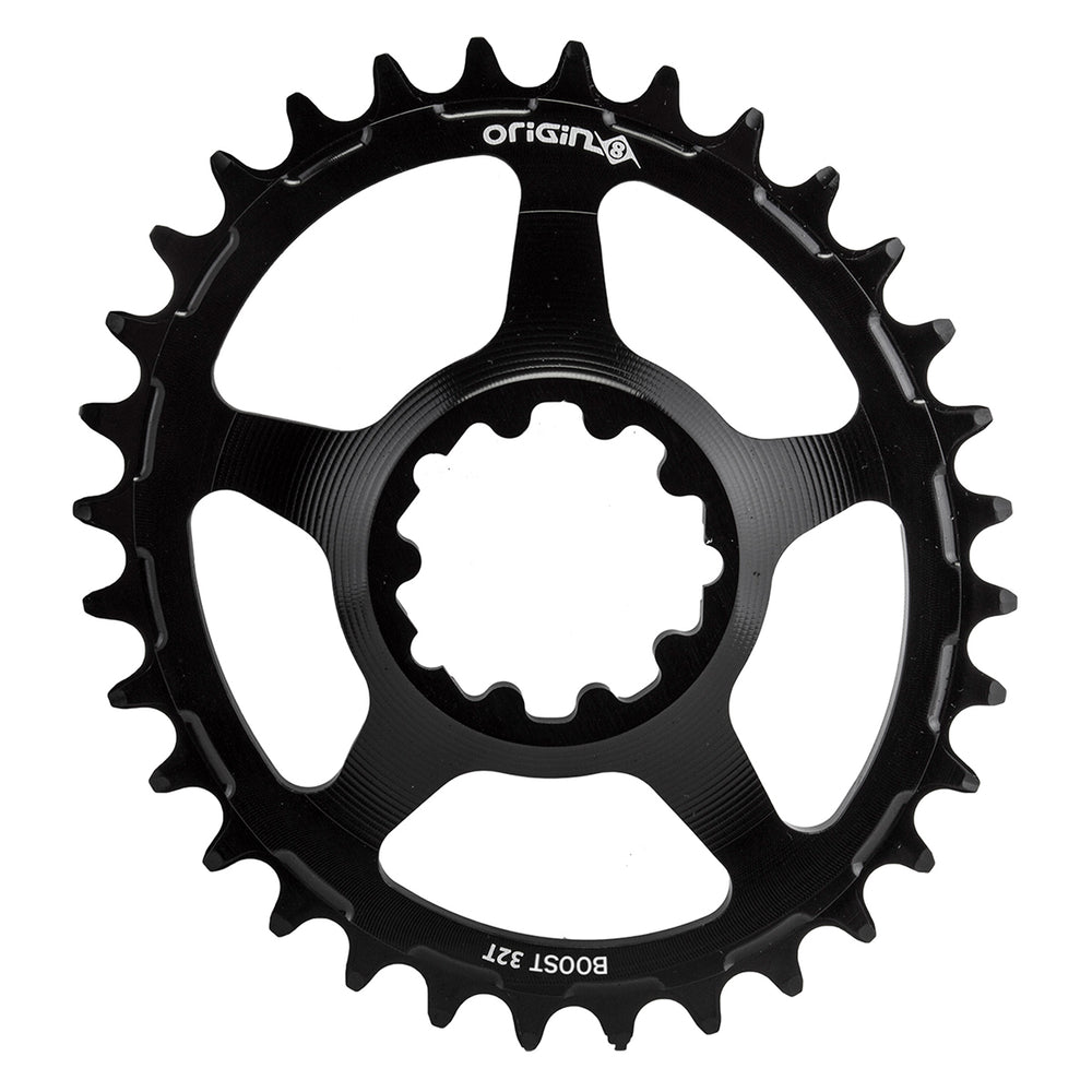 ORIGIN8 Holdfast Oval Direct 1x Boost Direct Mount 32T Boost Black Chainring