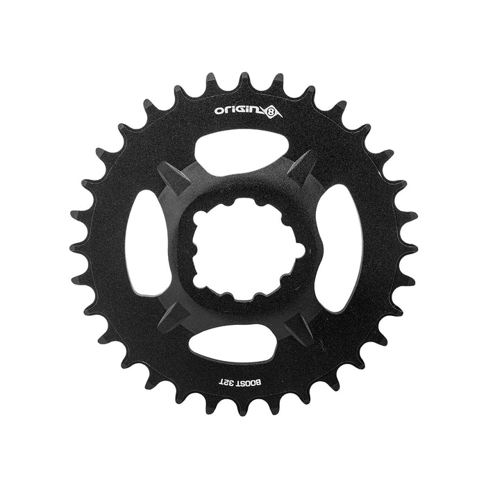 ORIGIN8 Thruster Direct 1x Boost/Fat Direct Mount 32T Boost/Fat Black Chainring
