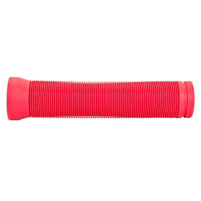 BLACK OPS Flangeless Circle Bar Grips Red