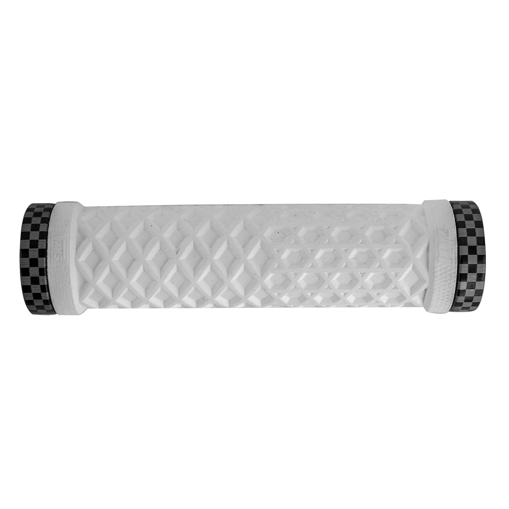 ODI Vans MTB LockOn Grips White w/ Checker Clamp