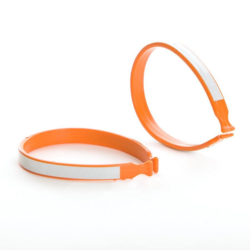 EVO, Plastic Pant Clip With Reflective Stripe, Orange