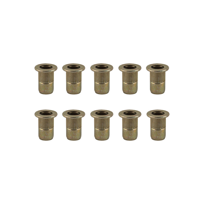 SUNLITE Rivnut Steel Rivnut insert M5 x 12mm - Bag of 10
