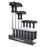 Origin8 L-Handled 2-10mm Metric Wrench Set w/ Base
