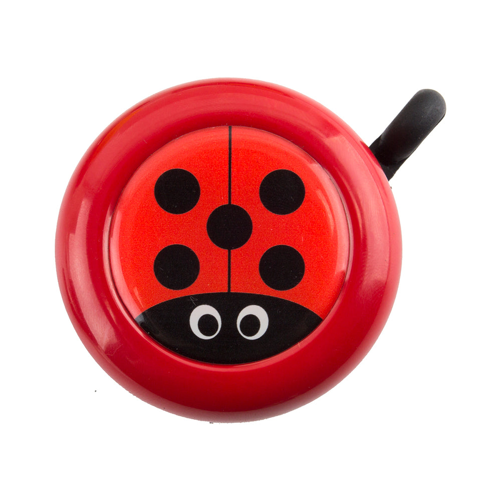 SUNLITE 54mm Alloy Ringer Lever Lady Bug 54mm Red Bike Bell