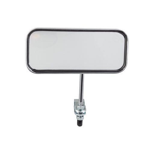 SUNLITE Rectangular Mirror Bolt-on Chrome Bicycle Safety Mirror