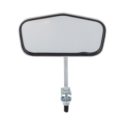 SUNLITE Pentagonal Mirror Bolt-on Chrome Bicycle Safety Mirror