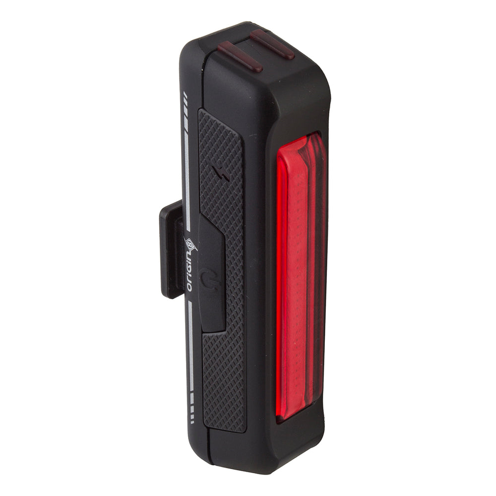 ORIGIN8 Rear Light Bar Black Mini USB Rechargeable Bicycle Safety Light