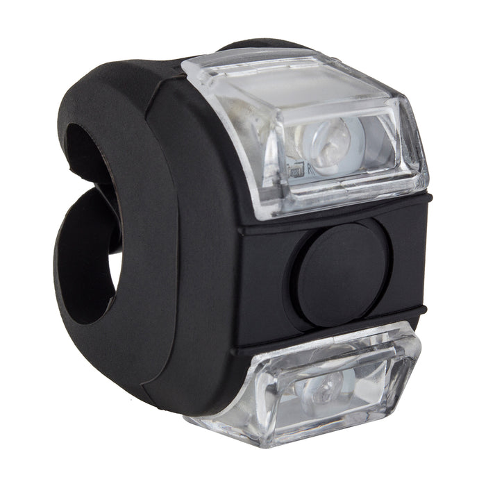SUNLITE HL-L220 OmniGrip Black Mini Front Bicycle Safety Light