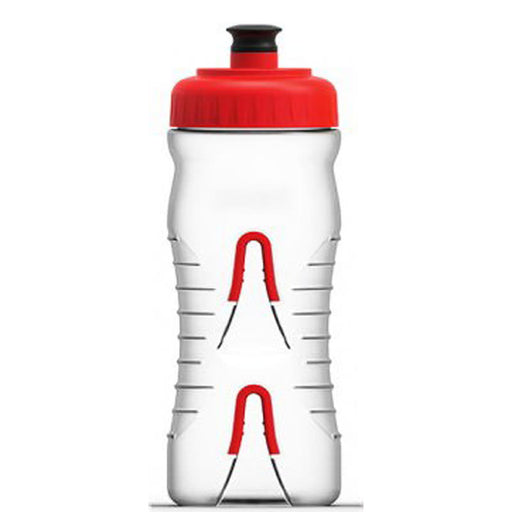 Fabric Cageless Water Bottle Clear/Red 22 oz FP4016U0522