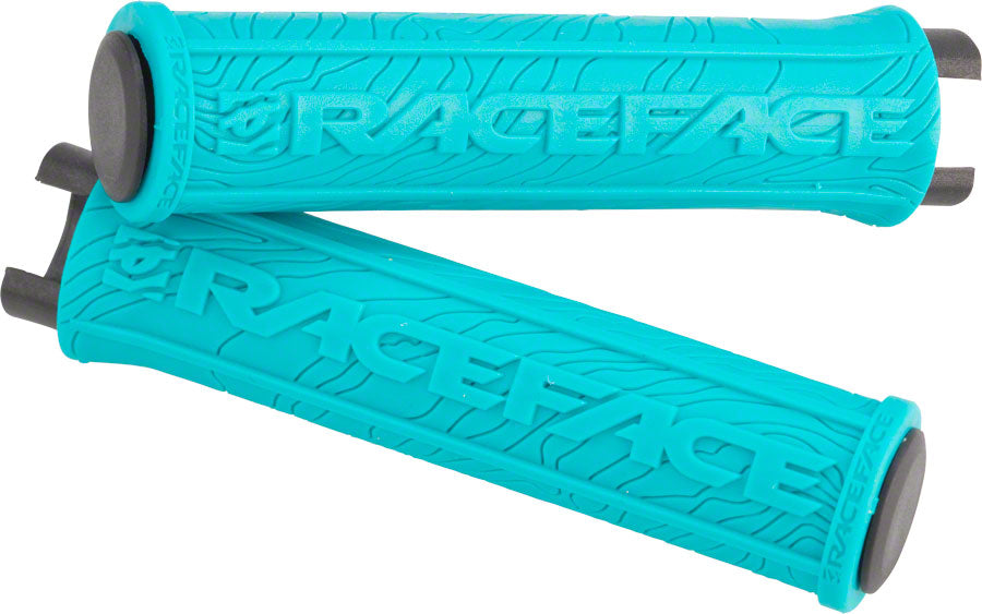 RaceFace Half Nelson Lock-On Grip Turquoise