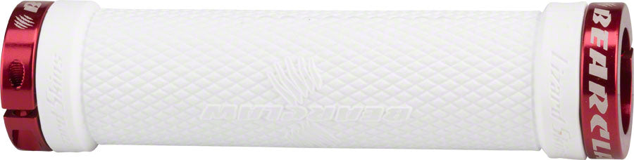 Lizard Skins Bearclaw Lock On Grips White