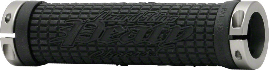Lizard Skins Peaty Cheers Lock-On Grips Black