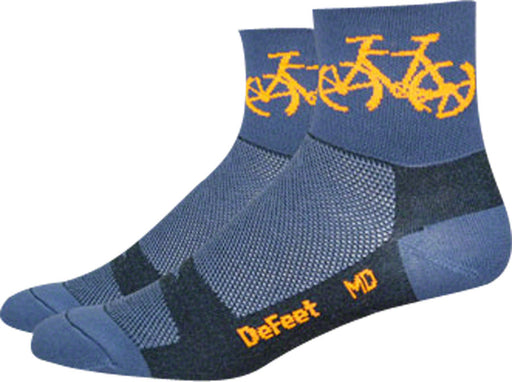 DeFeet Aireator 3 Townee Sock: Graphite MD