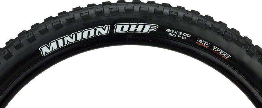 Maxxis Minion DHF Tire: 29 x 3.00 Folding 60tpi Dual Compound EXO Tubeless