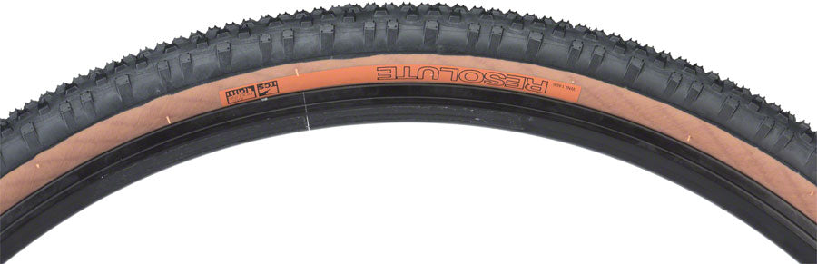 WTB Resolute TCS Light Fast Rolling Tire: 700 x 42 Folding Bead Black/Tan
