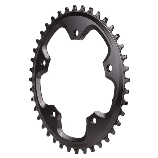 Absolute Black 5x110BCD CX 1X oval chainring, 40T - black
