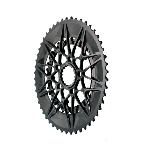Absolute Black Oval SpideRing Cannondale Road Chainring Set,  52/36T