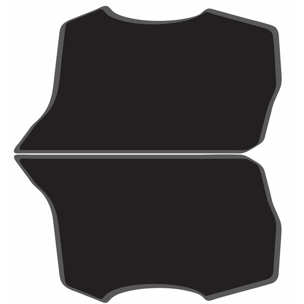 AnswerBMX 3D Number Plate, Side - Black