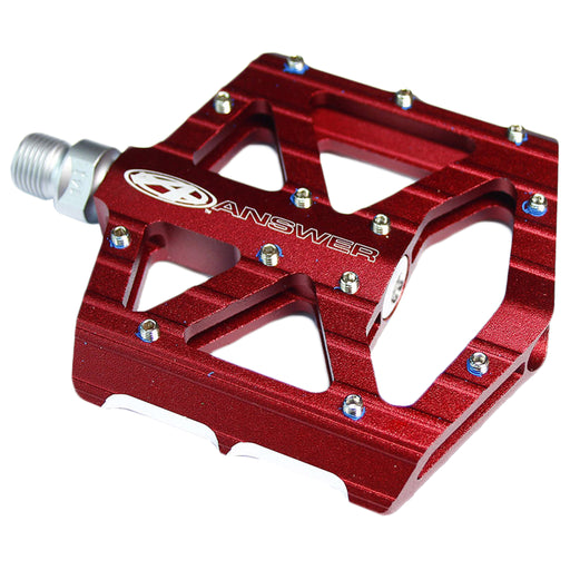 AnswerBMX MPH Jr Platform Pedals, Red