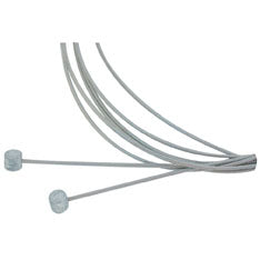 Aztec Stainless Brake Cable Set, Mtn - Front/Rear