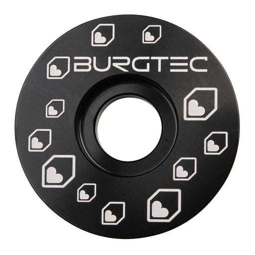 Burgtec Top Cap - Burgtec Black