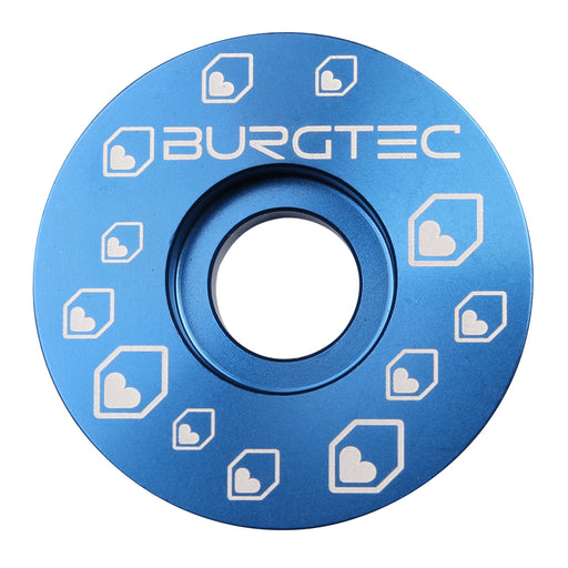 Burgtec Top Cap - Deep Blue