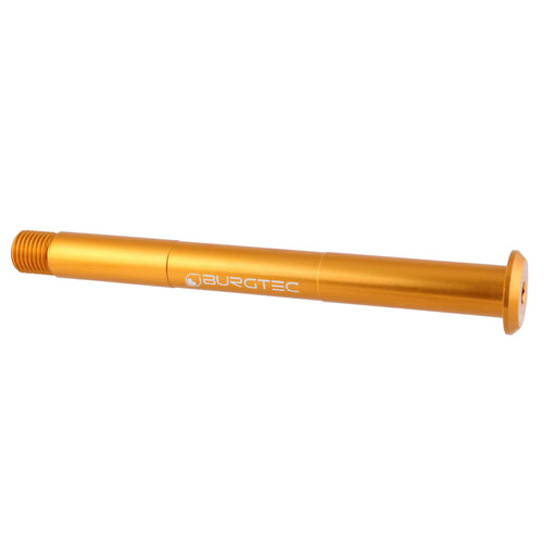 Burgtec Fox Fork Axle, 15x110mm - Bullion Gold