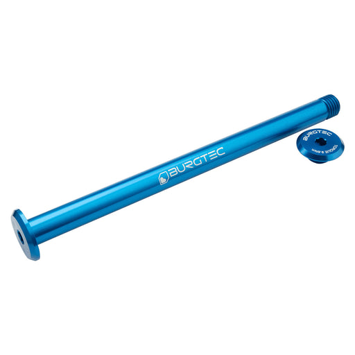Burgtec Evil SuperBoost+ Rear Axle, 12x180mm - Deep Blue