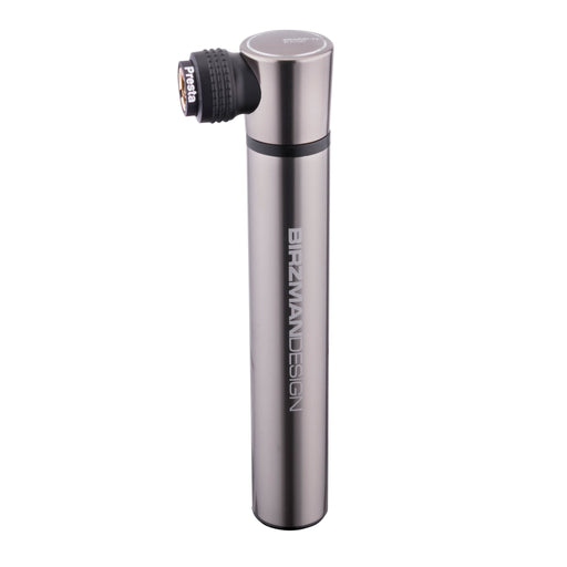 Birzman Scope-Apogee Hand Pump, Silver/Black
