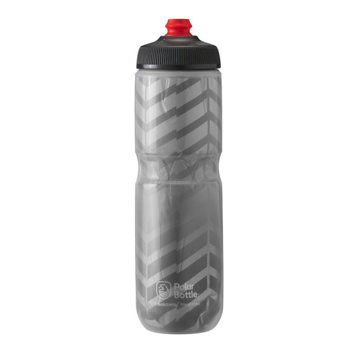 Polar Bottle Breakaway Water Bottle 24oz - Bolt Charcoal/Silver