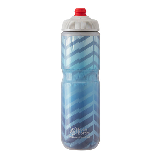 Polar Bottle Breakaway Water Bottle 24oz - Bolt Cobalt Blue/Silver