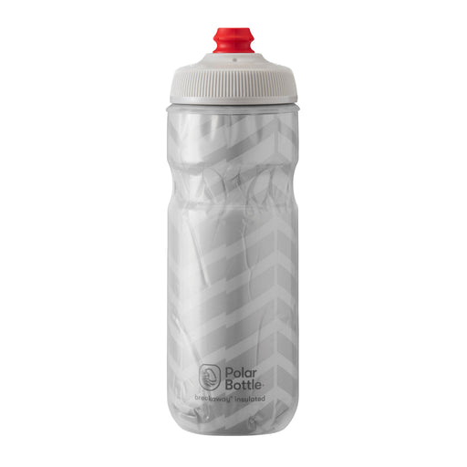 Polar Bottle Breakaway Water Bottle 20oz - Bolt White/Silver