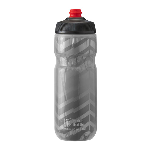 Polar Bottle Breakaway Water Bottle 20oz - Bolt Charcoal/Silver