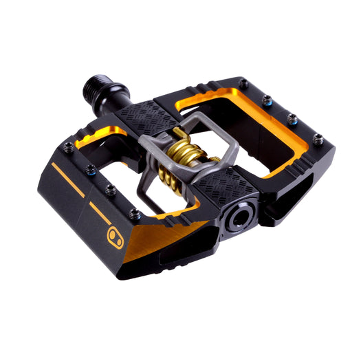 Crank Brothers Mallet DH 11 pedals, black/gold