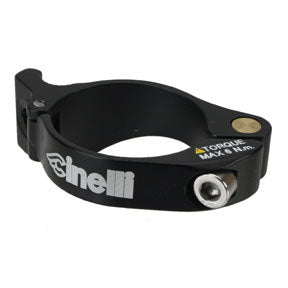 Cinelli Logo Braze-On Derailleur Clamp, 34.9-35.5mm