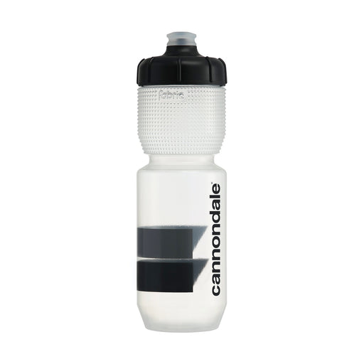 Cannondale Block Gripper Bottle Clear + Black 750ml CP5200U0175