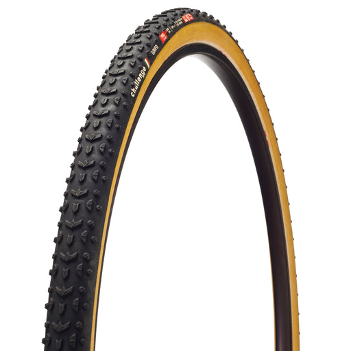 Challenge Tire Grifo Pro Tubular tire, 700x33c black/tan